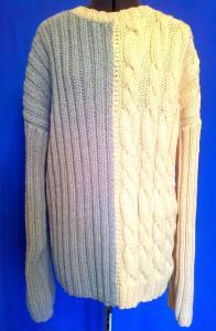 свитер oversize
